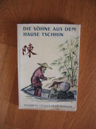 """Buch """"Die Söhne aus dem Hause Tschhin"""", Elisabeth Oehler-Heimerdinger"""