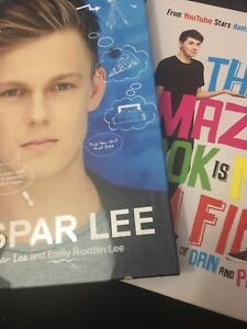 The Amazing book is Not on Fire & Caspar Lee YouTuber Books