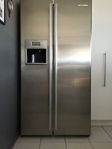 Side by side westinghouse fridge freezer WSE6070SB New Farm Brisbane North East Preview