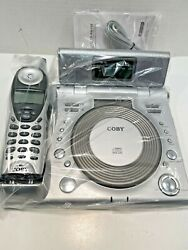 CORDLESS TELEPHONE  WITH CALLER ID,ALARM CLOCK RADIO, & CD PLAYER VINTAGE NEW