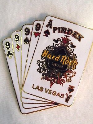 Hard Rock Hotel Las Vegas Pindex Early Bird '99 Pin