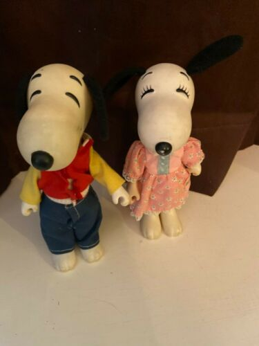Snoopy and Belle Figures 1966