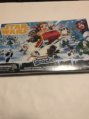 NEW Star Wars Micro Force Advent Calendar 24 Figures Includes4 Exclusive Holiday
