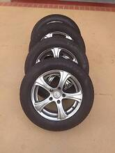 "15"" Rodney Jane Racing Wheels + Great Tyres! (5x114.3) Carina Heights Brisbane South East Preview"
