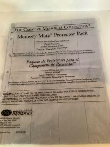 Creative Memories  Memory Mate Protector Pack NEW