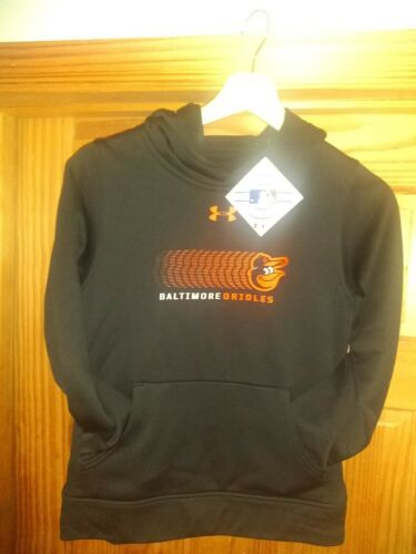 Baltimore Orioles Under Armour Hoodie On Field Apparel Black