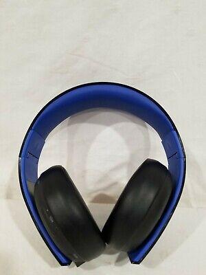 Sony PlayStation Gold Wireless Stereo Headset Jet Black No Dongle CECHYA-0083