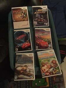 Wii games assorted