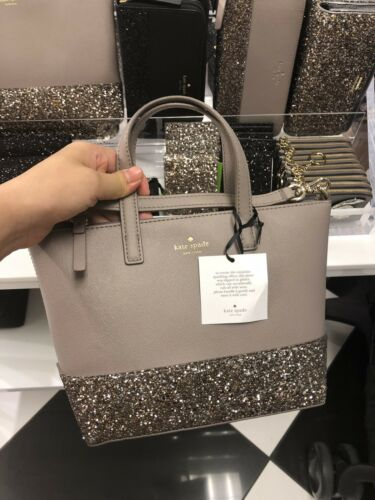 NWT!Kate Spade Greta Court Ina Glitter Crossbody Bag WKRU5610 $169