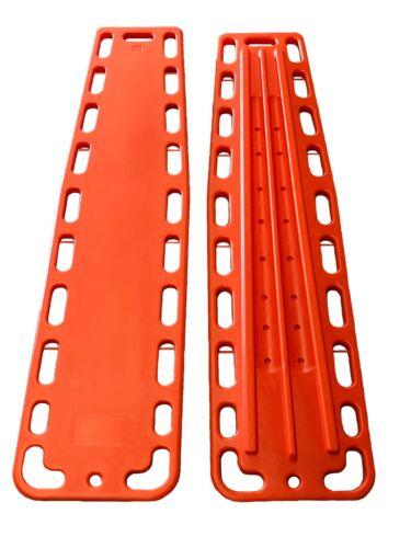 LINE2design Spinal Immobilization - Emergency EMS Medical Backboard - Orange