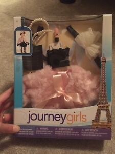 Journey girls Paris set for American girl dolls