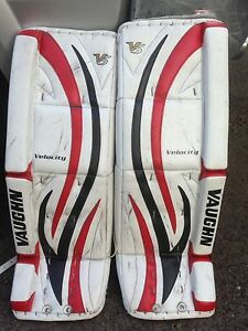 Goalie Pads, chest protector, stick and skates for sale