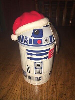Hallmark Caroling Santa R2-D2 Star Wars Original Treat Cookie Jar Exclusive NEW for sale  Bethlehem