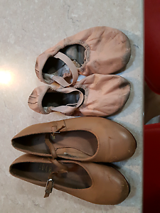 Bloch Tap and ballet shoes Greenwith Tea Tree Gully Area Preview