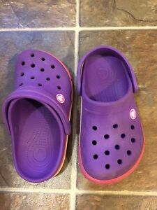 Kids Crocs sandals, size 1