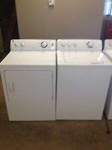 2 year old GE washer dryer set