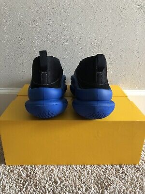 Pyer Moss The Sculpt Blue Black US Mens size 8 DS - Exclusive - IN HAND