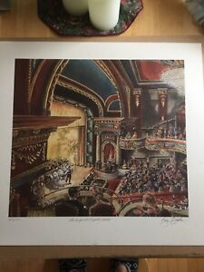 Ray Butler Imperial Theatre Print - Numbered and signed