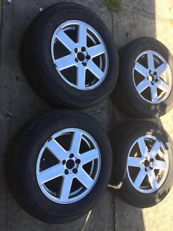 volvo xc90 rims & tyres 17 inch