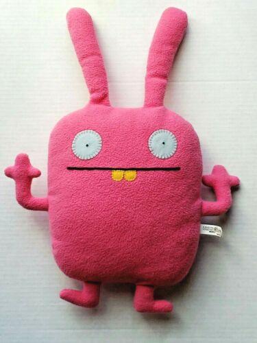 """Ugly Doll Wippy Plush Original 2010 18"""" Pink 10438 Pretty Uglydoll Classic"""