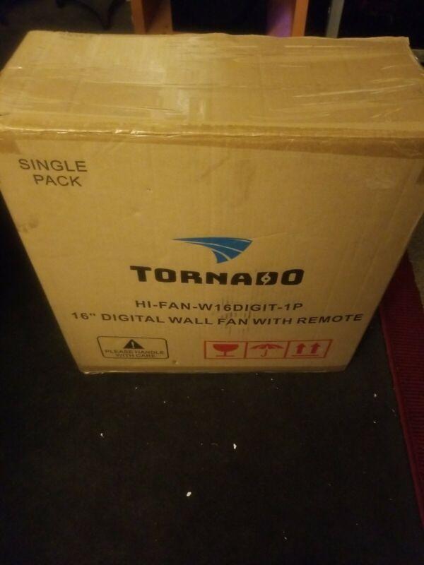 Tornado 16 Inch 3spd Digital Wall Mount Fan -with  Remote    FREE SHIPPING