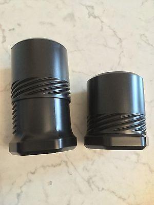 100x DrehPack Schutzbehälter -Transport/Lagern/Sichern-ca. D 6,5cm  L 8,7cm-ESD