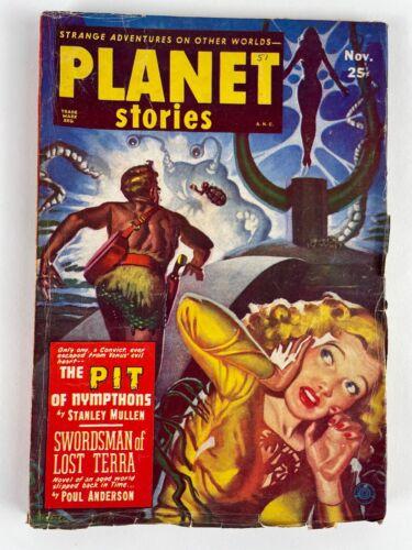 PLANET STORIES NOV 1951, vol 5, #3, Anderson, Mullen, Reynolds, Dee, Starr +