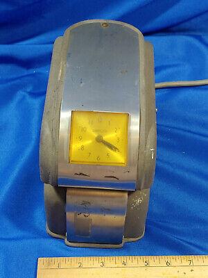 Antique-vtg Simplex Time Recorder Keeper Punch Clock Job Work Heavy Hc2gd