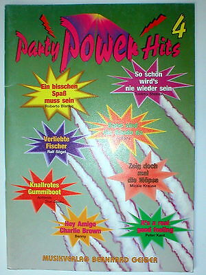 Party Power Hits 4 Songbuch