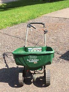 Lawn seeder