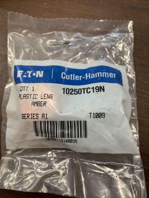 Citler Hammer 10250TC19N Plastic Lens Amber Series A1