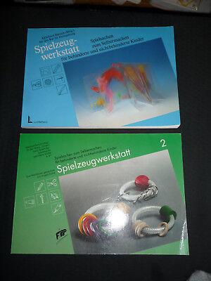 2 Bände - Spielzeug Werkstatt Spielsachen zum Selbermachen Kindergarten Bartsch