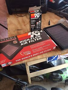 K&n air filter and cleaning kit