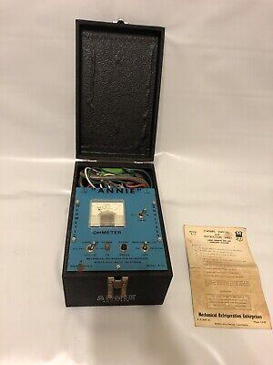 Mechanical Refrigeration Annie Hermetic Analyzer A-10 Rare Ohmeter