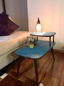 Rustic Refinished Side Table