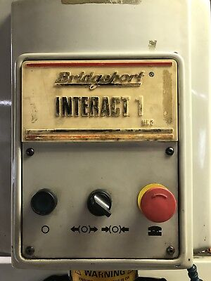 Bridgeport Cnc Interact 1 Mk2 Mill Milling Machine