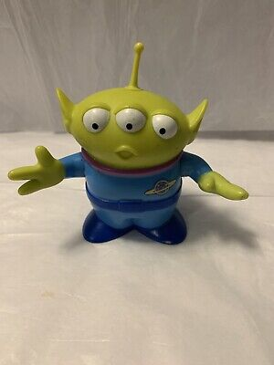 "Disney Pixar Toy Story Space Alien / Martian 4"" Toy Figure Thinkway Toys"