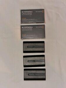 Blackmagic NP-F570 batteries for bmpcc 6k pro