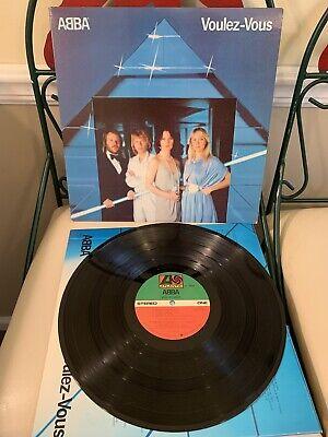 ABBA VOULEZ-VOUS Original Vinyl LP Record 1979 Album ATLANTIC SD 16000 NM