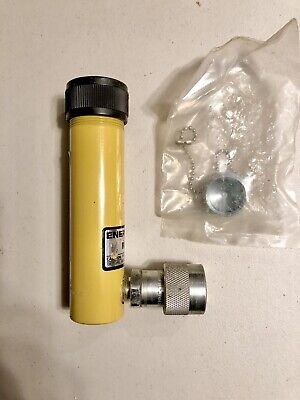 Enerpac Hydraulic Cylinder Model Rc-53. 5 Ton 3 Stroke.