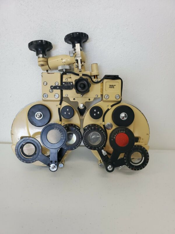 Bausch & Lomb Refractor Phoropter Eye Exam Ocular Equipment Tool SOLD AS IS