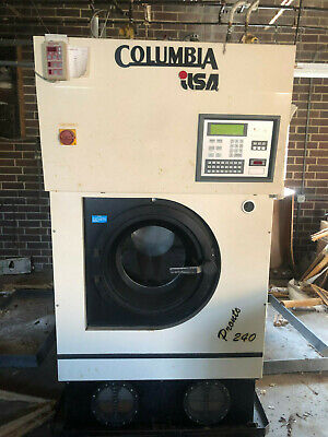 Columbia Ilsa Dry Cleaning Machine Pronto 240 From Cleaner World