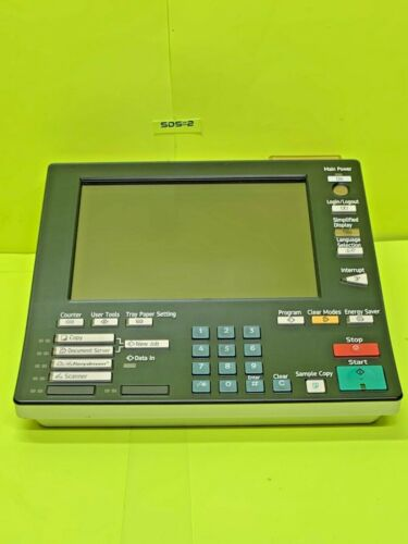 Ricoh Savin Lanier Pro C900 S Touch Screen Control Operation Panel display LCD