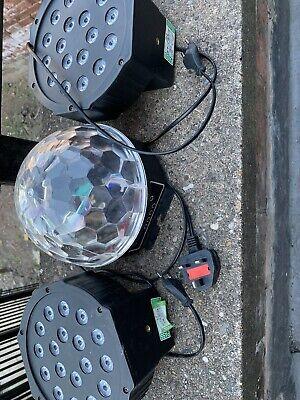Disco Lights X 3