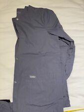 Women's Landau Scrub Jacket Gray Size Small | eBay