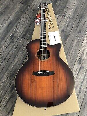 Venetian Cutaway Electro Acoustic Guitar RRP £399 Tanglewood TW4 VC KOA Fishman