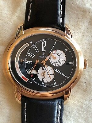 Audemars Piguet Millenary Maserati GMT RG Mens Black Dial 26150OR.OO.D003CU.010