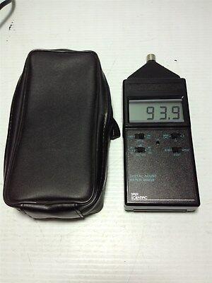 Sper Scientific Digital Sound Meter 840029 And Soft Case - Working