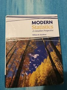 Modern statistics a Canadian perspective