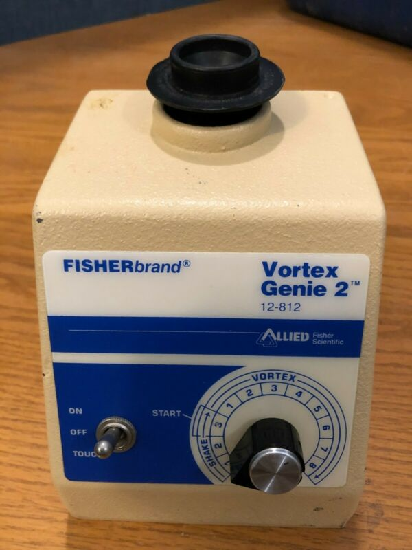 Fisher Scientific Vortex Genie 2 model G-560 test tube vial lab shaker mixer